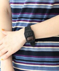 BEAMS BOY 【WEB限定】Casio / CA-53WF ビームス ウイメン ファッショングッズ 腕時計 ブラック グレー ベージュ ネイビー