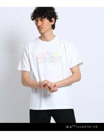 TAKEO KIKUCHI STAR WARS(スター・ウォーズ)/WEB限定Tシャツ タケオキクチ カットソー Tシャツ ホワイト ブラック【送料無料】