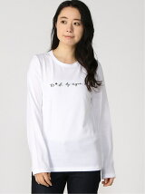 To b. by agnes b. /(W)WM40 TS ロゴ Tシャツ