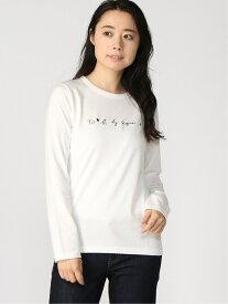 To b. by agnes b. To b. by agnes b. /(W)WM40 TS ロゴ Tシャツ アニエスベー カットソー Tシャツ ホワイト ブラック【送料無料】