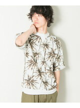 ボタニカルプリントSWEAT Tシャツ