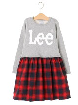 Kid's Lee 切替トレーナーワンピース17AW-LE002