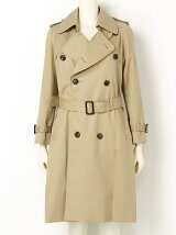 ultimate pima twilllong trench coat