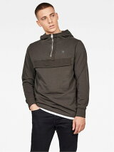 (M)Anorak Half Zip Sweat