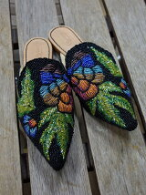 IMAYIN Beadwork Slippers