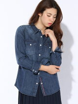 (W)THDW ACL DENIM SHIRT L/S 2