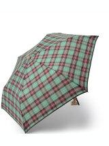 EB33 タータンチェック柄折りたたみ傘(雨傘)