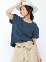 (W)テンセルパフスリーブTシャツ・カットソー(日本限定)
