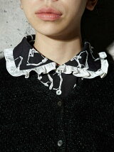 THREE GODS PATTERN COLLAR
