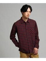 THERMOLITE(R)グレンチェックネルシャツ