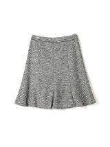 ◆大きいサイズ◆ツイードジャージースカート