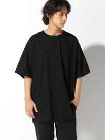 【SALE/30%OFF】Pledge 【6】 ミニワッペン刺繍Tシャツ レアリゼ カットソー Tシャツ ブラック ホワイト【送料無料】