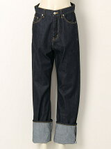 selvage denim5pocket woman fits