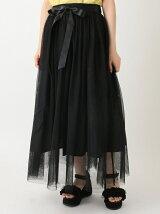 ボリュームチュールロングスカート