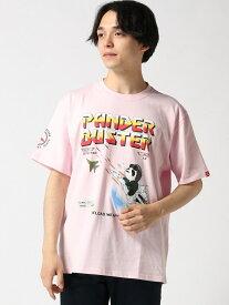 【SALE/28%OFF】PANDIESTA PANDIESTA/(M)バスターパンダTシャツ サンコーバザール カットソー【RBA_S】【RBA_E】