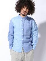 (M)リネンクレイジーシャツ