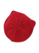 ネコミミニットベレー帽