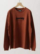 【別注】 <THRASHER> LONG SLEEVE TEE/Tシャツ<br>