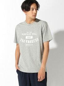 【SALE/60%OFF】nano・universe Selected :UpsidedownTシャツSS ナノユニバース カットソー Tシャツ グレー ホワイト レッド