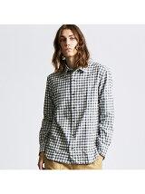 【Recency of Mine】撚り杢シャギーギンガムチェックシャツ