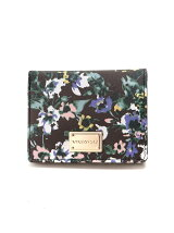 (W)VIVAYOU/花柄プリント2つ折り財布