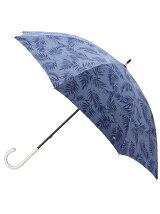 晴雨兼用ボタニカルリーフプリント長傘