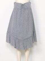 【sw】 コルセット付フレアスカート