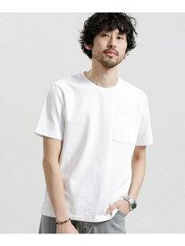 【SALE/70%OFF】nano・universe ポケット付きBigTシャツ ナノユニバース カットソー カットソーその他 ホワイト イエロー パープル ピンク ブルー ブラック グレー