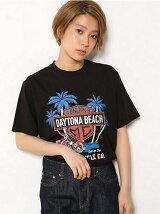 レースアップ MC Tシャツ