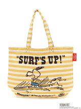 SURF`S UP ボーダートート (YE)