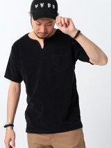 【OCEANS6月号掲載】ビーミング by ビームス / パイル ロックヘンリーネック Tシャツ BEAMS ビームス