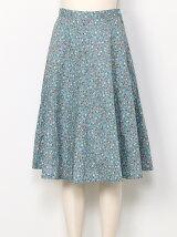 【sw】 カントリーフラワーフレアスカート
