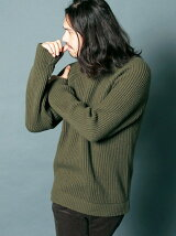 WOOL NYLON AZE RIB KNIT