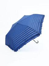 ボーダー星空柄折りたたみ傘