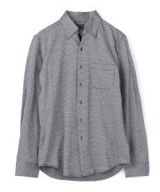 MEN'S BIGI ハイゲージジャージシャツ メンズ ビギ シャツ/ブラウス 長袖シャツ ブラック【送料無料】