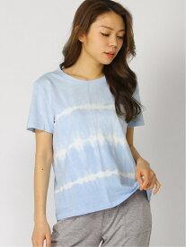 【SALE/30%OFF】GAP オーガニックヴィンテージ タイダイtシャツ ギャップ カットソー Tシャツ ブルー ピンク
