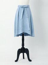 スエードフレアースカート