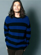 WOOL NYLON ROYAL RIB BOADER KNIT