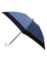 晴雨兼用バイカラー折り畳み傘