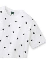 【ユニセックス】スター総柄プリント Tシャツ