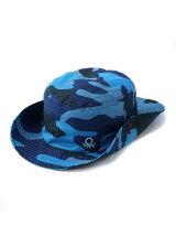 (M)ベネトン迷彩柄マリンハット・帽子