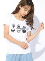 3ガールズTシャツ