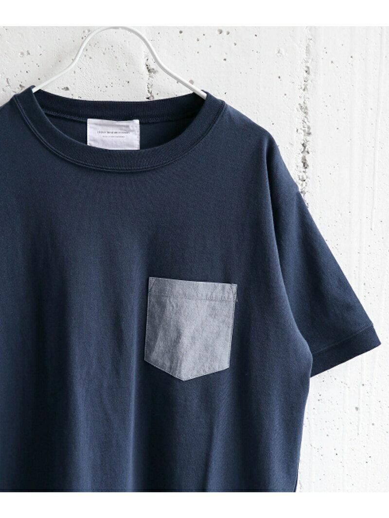 【SALE/40%OFF】DOORS デニムポケットTシャツ アーバンリサーチドアーズ カットソー【RBA_S】【RBA_E】