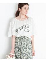 EASTVILLAGE プリントTシャツ