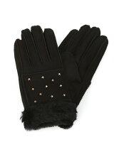 Casselini × Ray BEAMS / 別注 ムートン グローブ  レイ ビームス  プレゼント グローブ 手袋