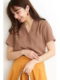 【SALE/10%OFF】N. Natural Beauty Basic ガルーダドビークロスシャツ エヌ ナチュラルビューティーベーシック* シャツ/ブラウス シャツ/ブラウスその他 ブラウン ピンク ネイビー【送料無料】