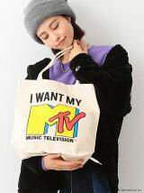 MTV by BEAMS BOY / トートバッグ エムティーヴィー エコバック ビームスボーイ