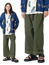 Rahman wide pants