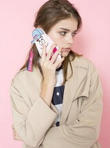 MILKFED×BARBAPAPA iphone case2