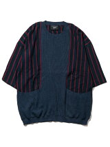 Barney stripe knit